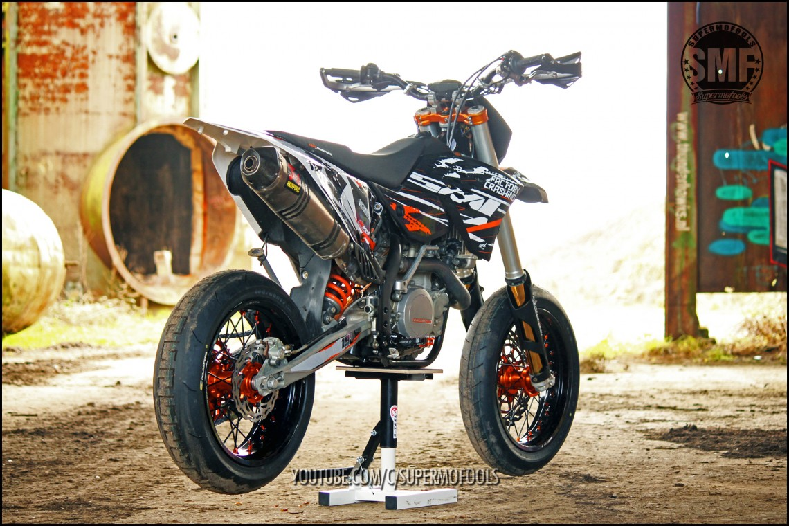 Ktm Exc Supermoto Conversion