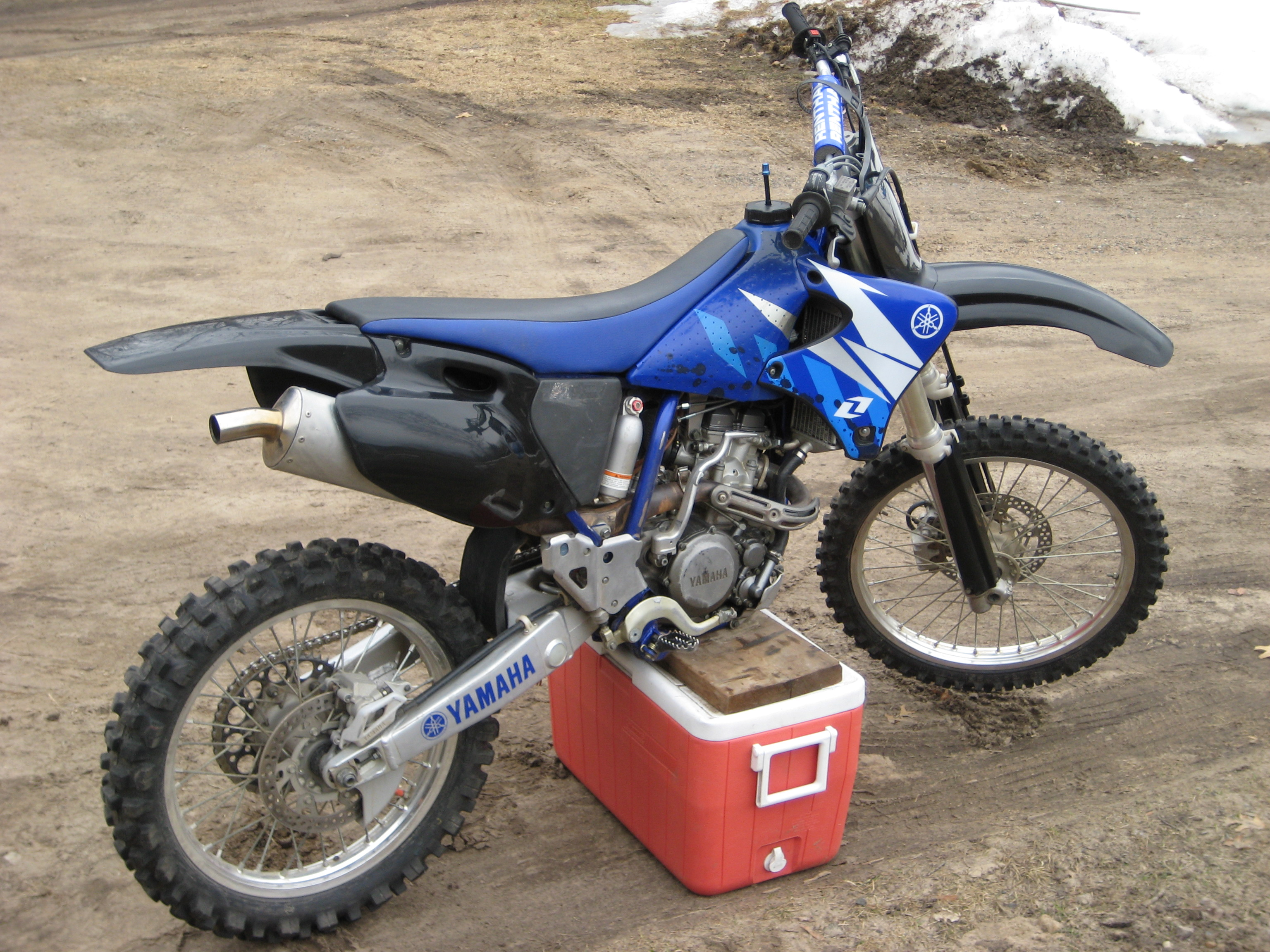 2001 yamaha yz 250 f pic 4. Black Bedroom Furniture Sets. Home Design Ideas