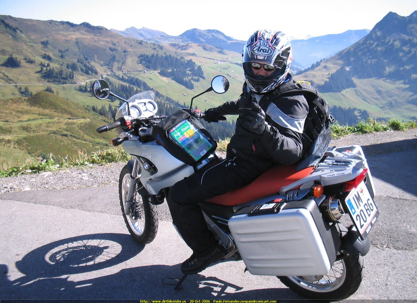 2006 Bmw F650gs Pics Specs And Information Onlymotorbikes Com