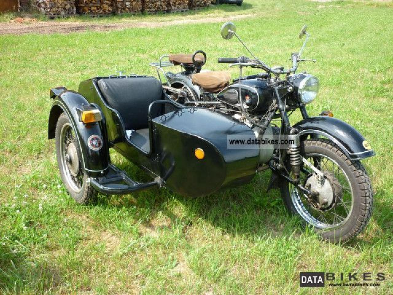 Dnepr MT 11 with sidecar 1988 wallpapers #137670