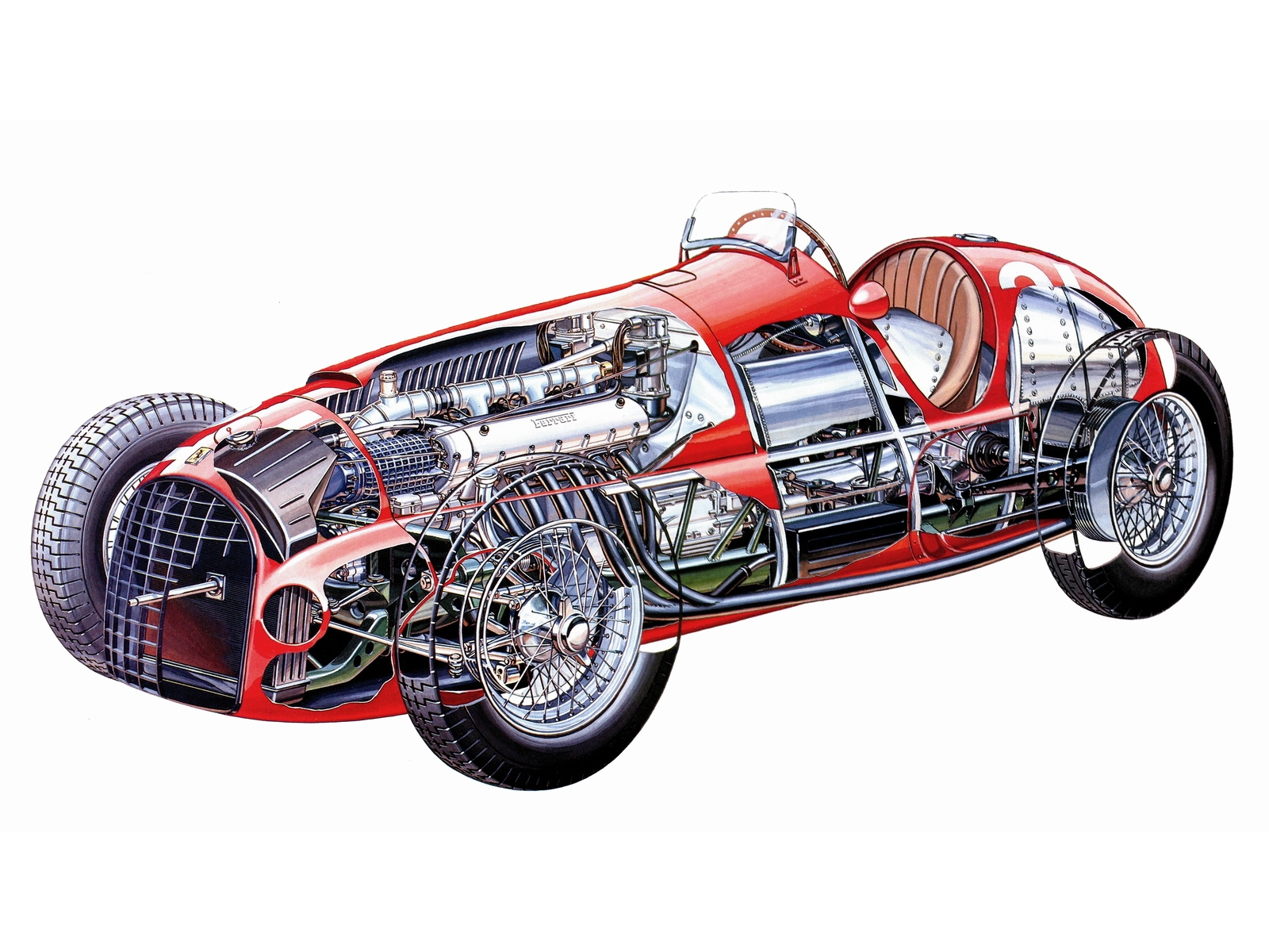 Ferrari 125 1955 wallpapers #137869