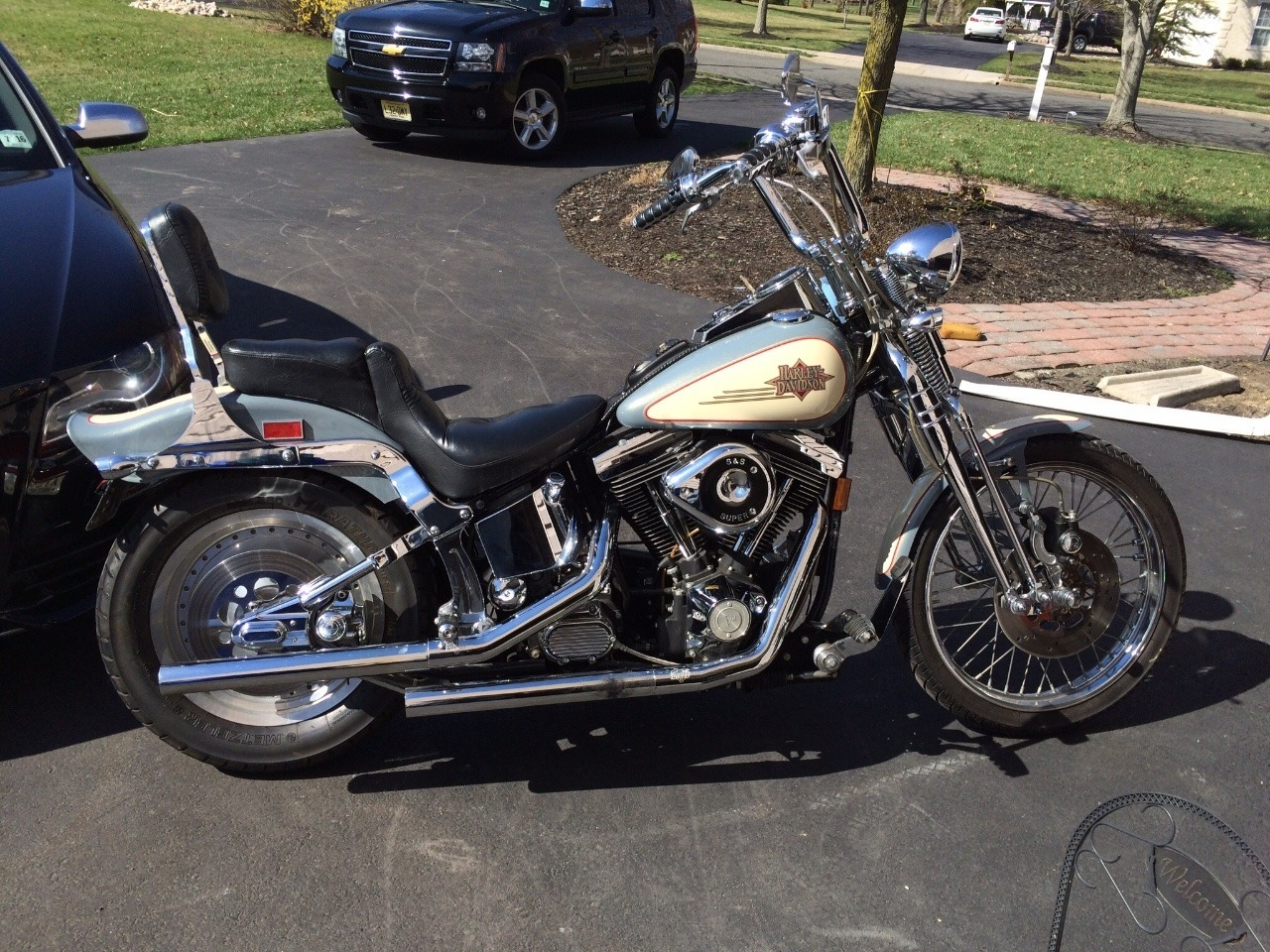 Harley-Davidson FXSTS Springer Softail 1997 images #80001