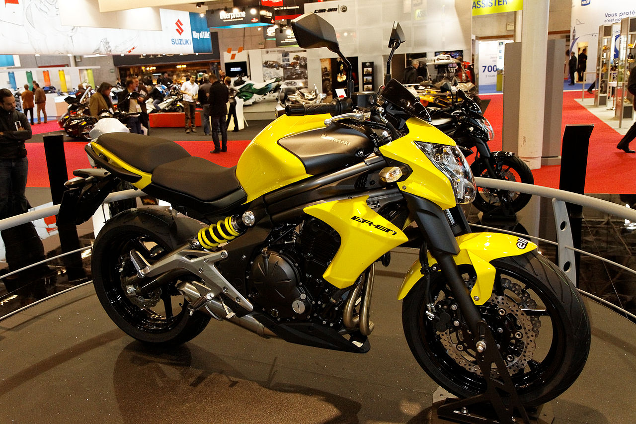Can you ride a Kawasaki ER-6n (2009 - 2011) with an A2