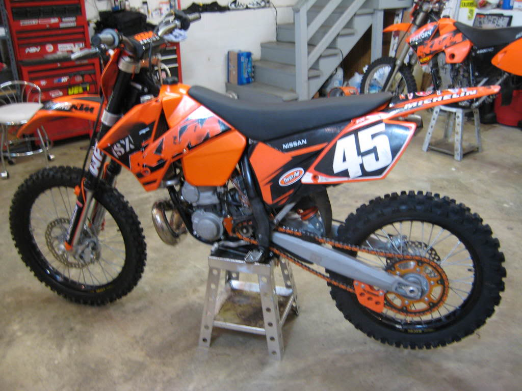 2003 ktm 250 sx: pics, specs and information - onlymotorbikes