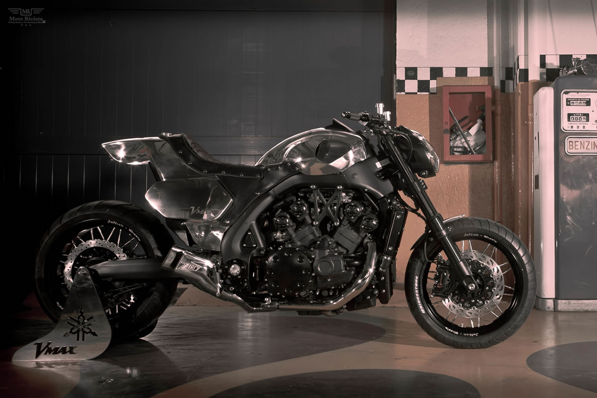 Yamaha VMAX Hyper Modified Marcus Walz 2013 images #92104