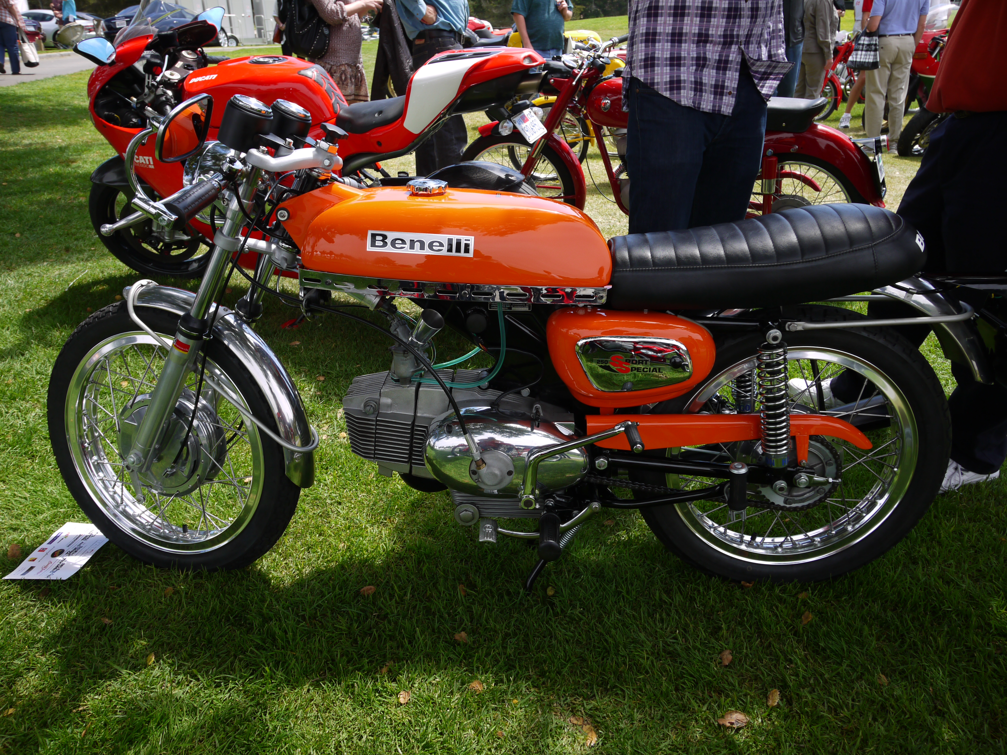 Benelli 125 Sport 1982 wallpapers #132618