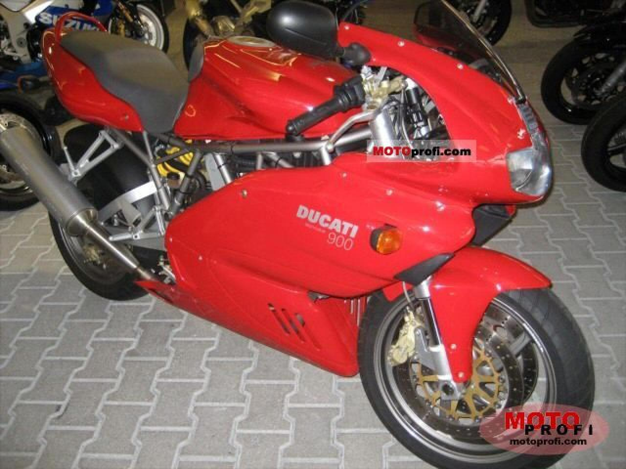Ducati 900 SS Carenata 2001 wallpapers #11099