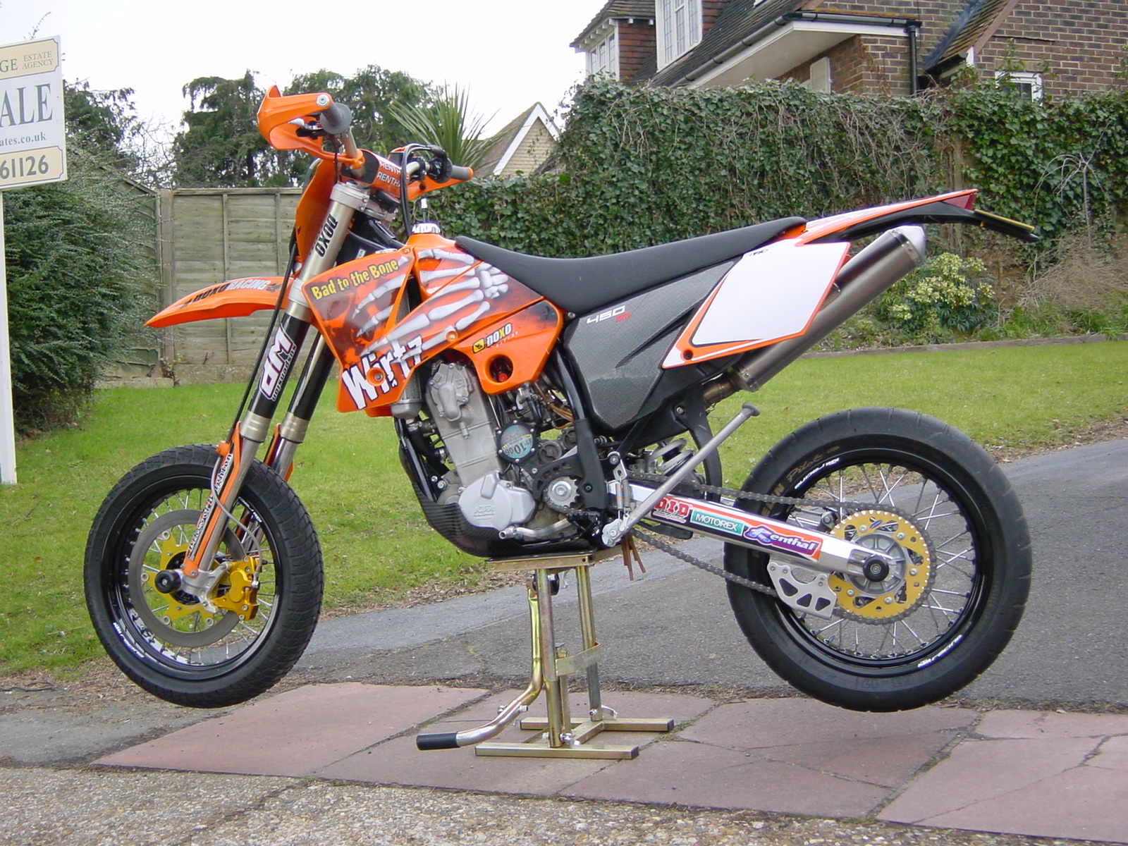 KTM 450 SX Racing 2004 wallpapers #160484
