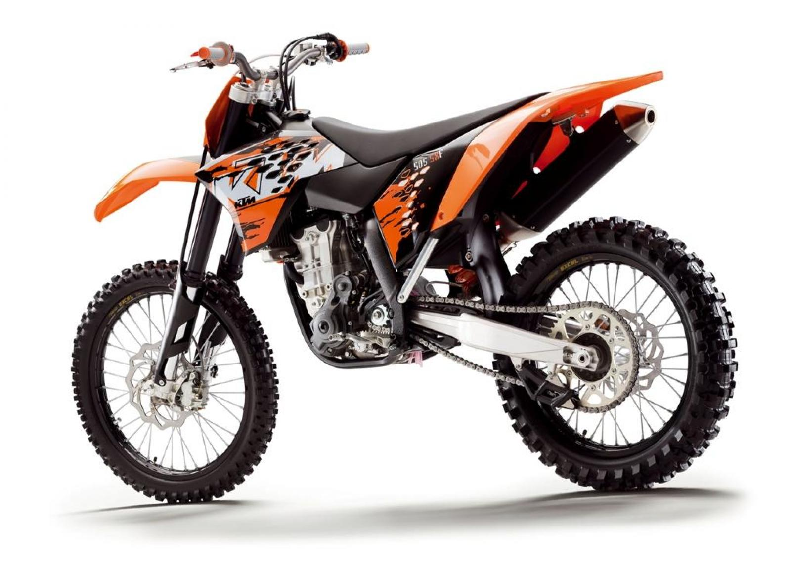 KTM 505 SX-F 2007 wallpapers #135393
