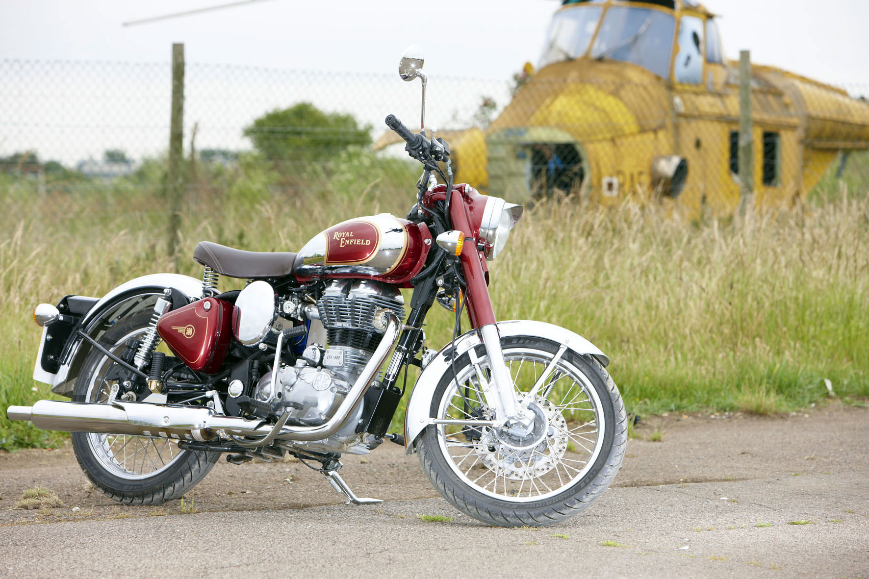 Royal Enfield Bullet 500 Trial Trail images #170401