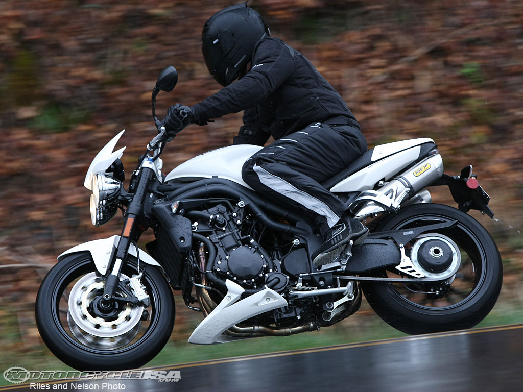 Triumph Speed Triple 1050 2008 wallpapers #130734