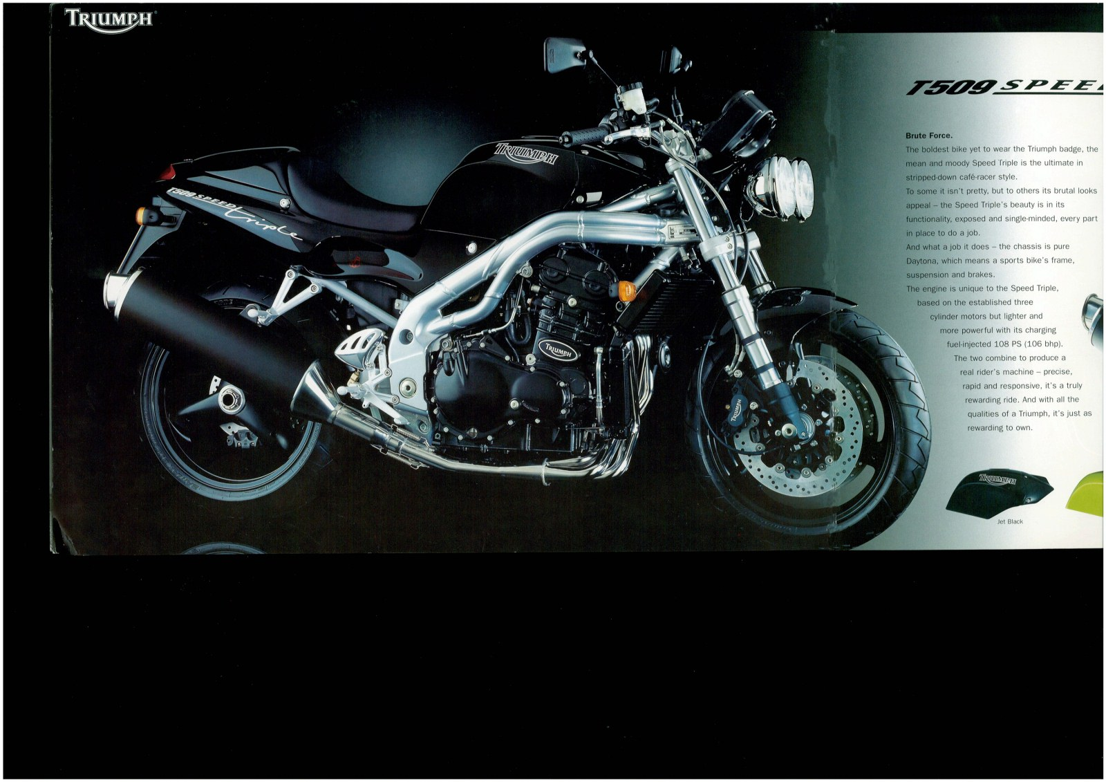 Triumph Speed Triple T509 1997 wallpapers #130535