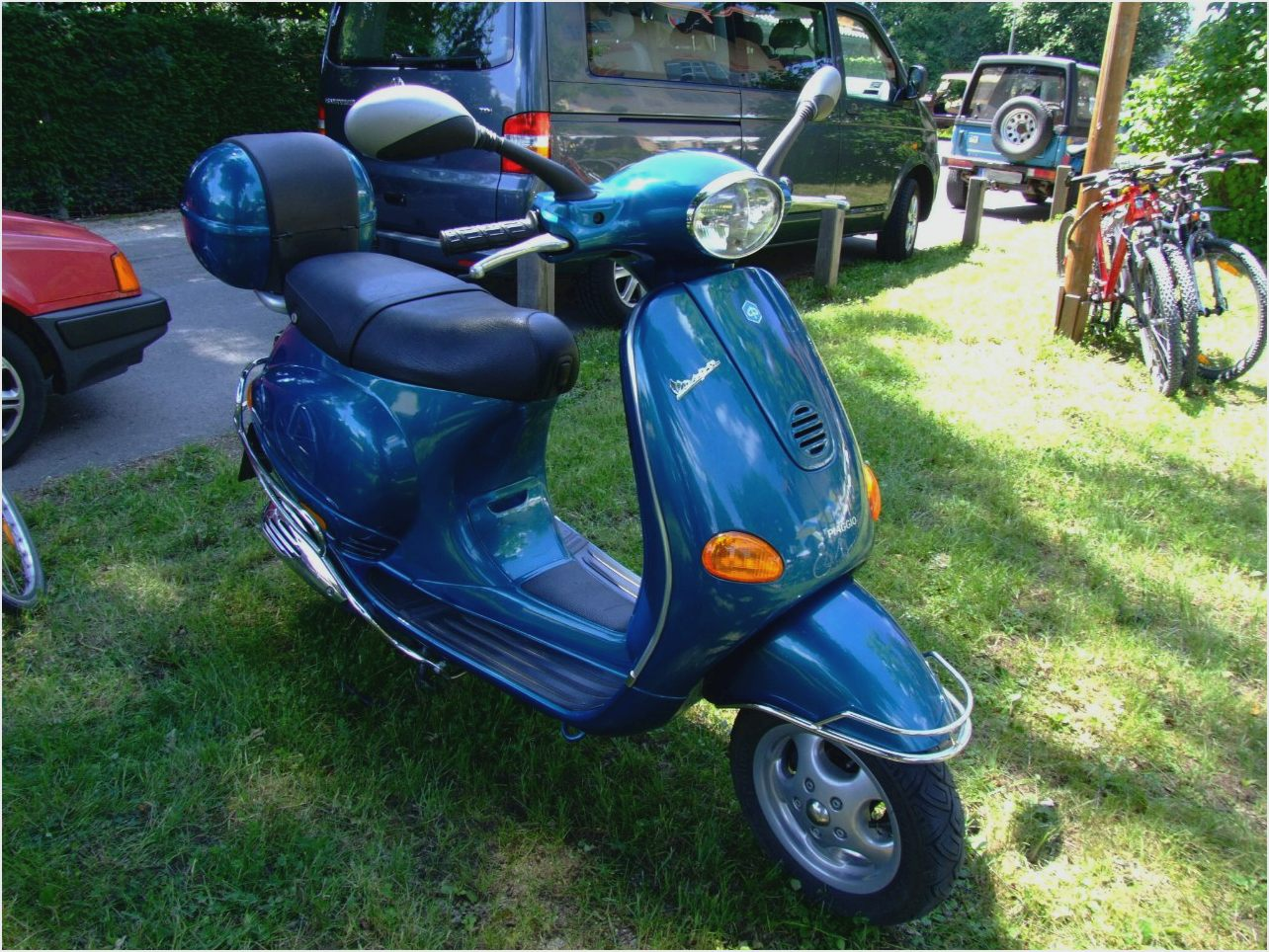 Vespa ET 4 2002 wallpapers #132325