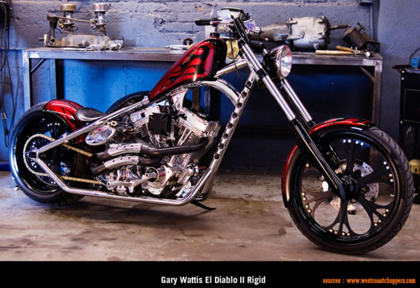 West Coast Choppers El Diablo Rigid 2010 wallpapers #131328