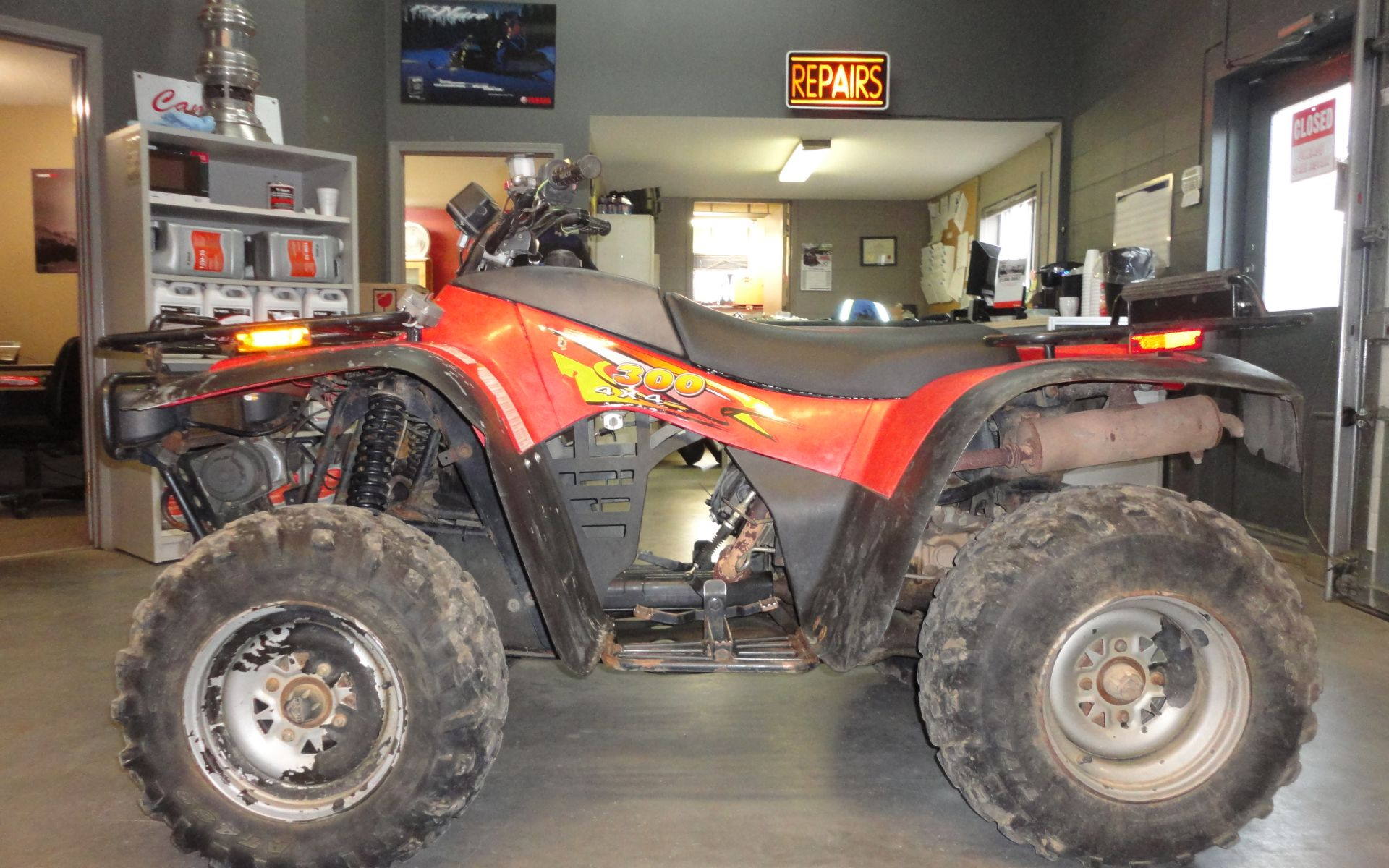 Arctic Cat 300 4x4 1999 wallpapers #136778
