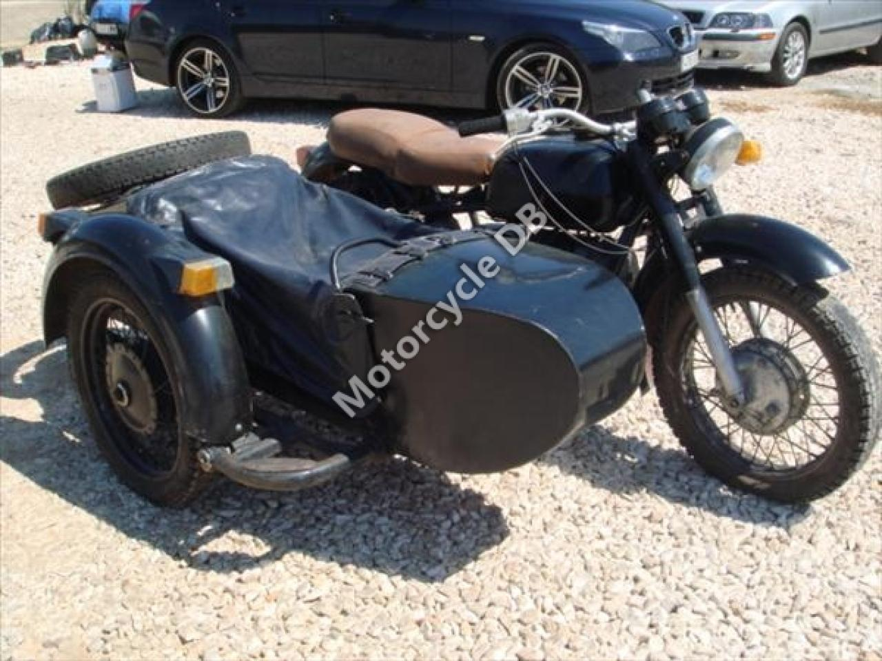 Dnepr MT 10 with sidecar 1983 images #95572
