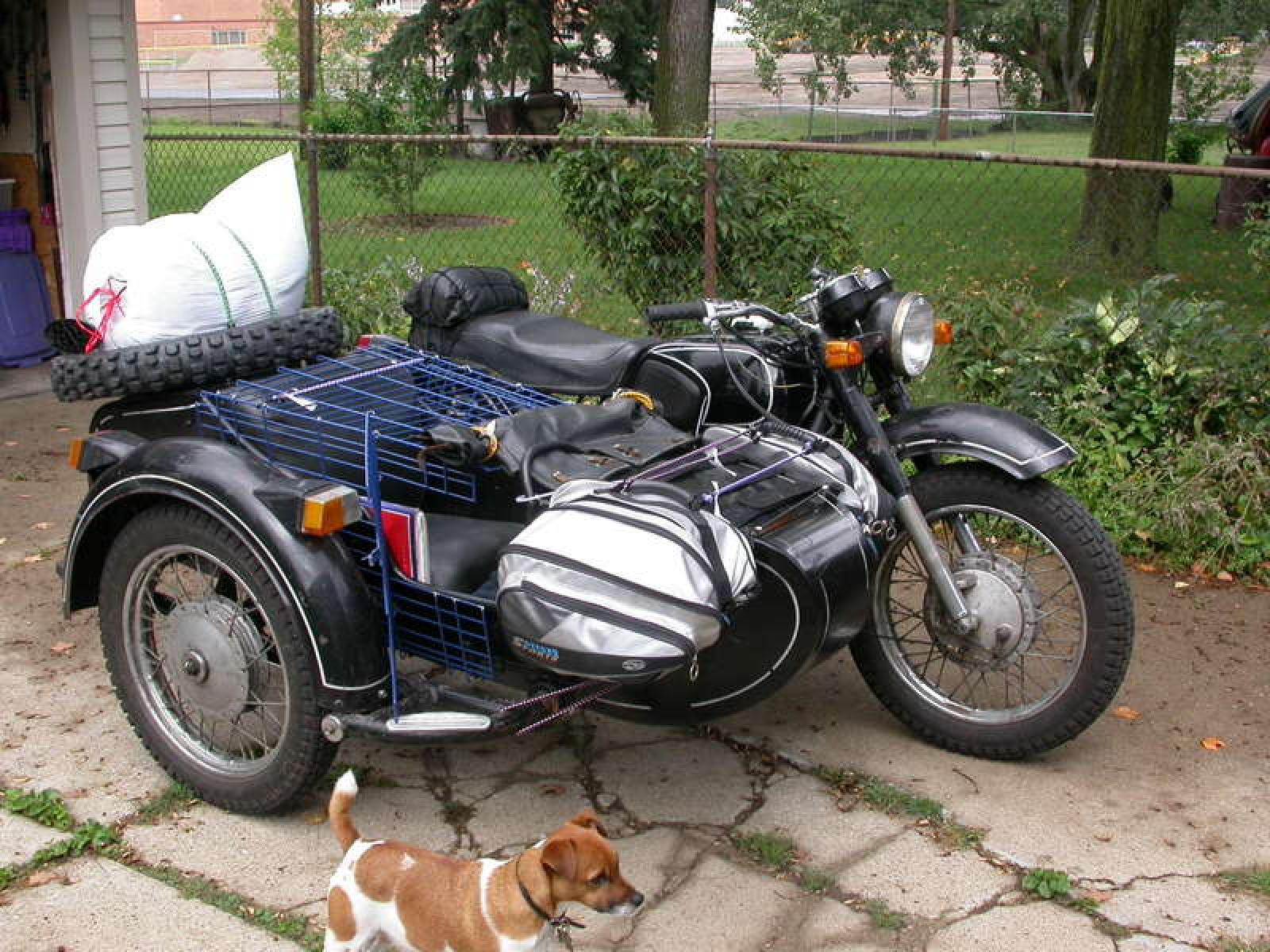Dnepr MT 12 with sidecar images #71972