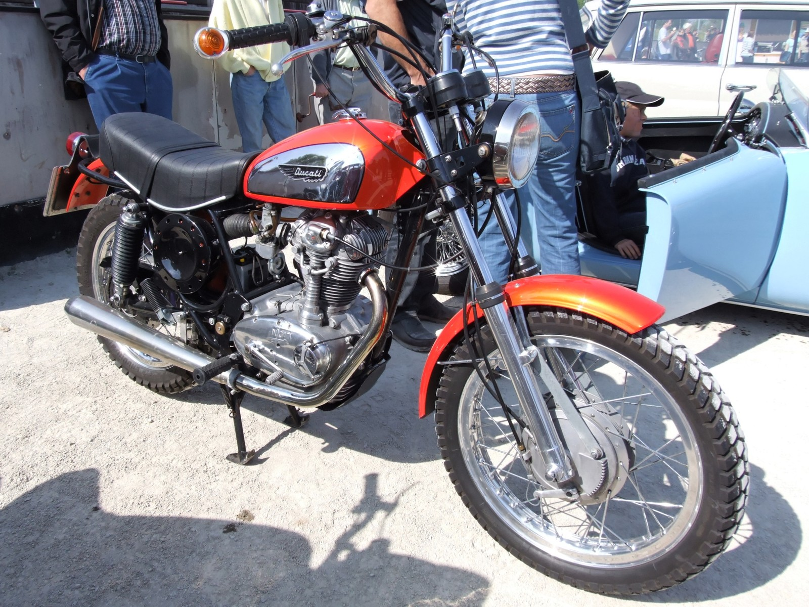 Ducati 350 Mark 3 D images #10208