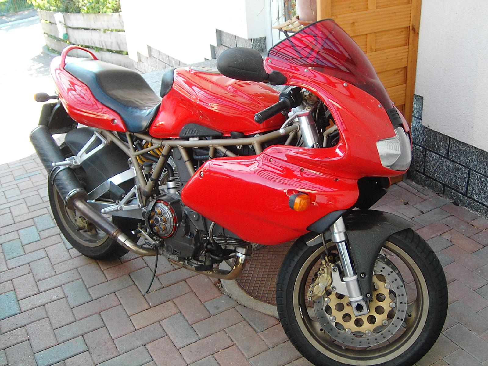 Ducati 900 SS Carenata 2001 wallpapers #11100
