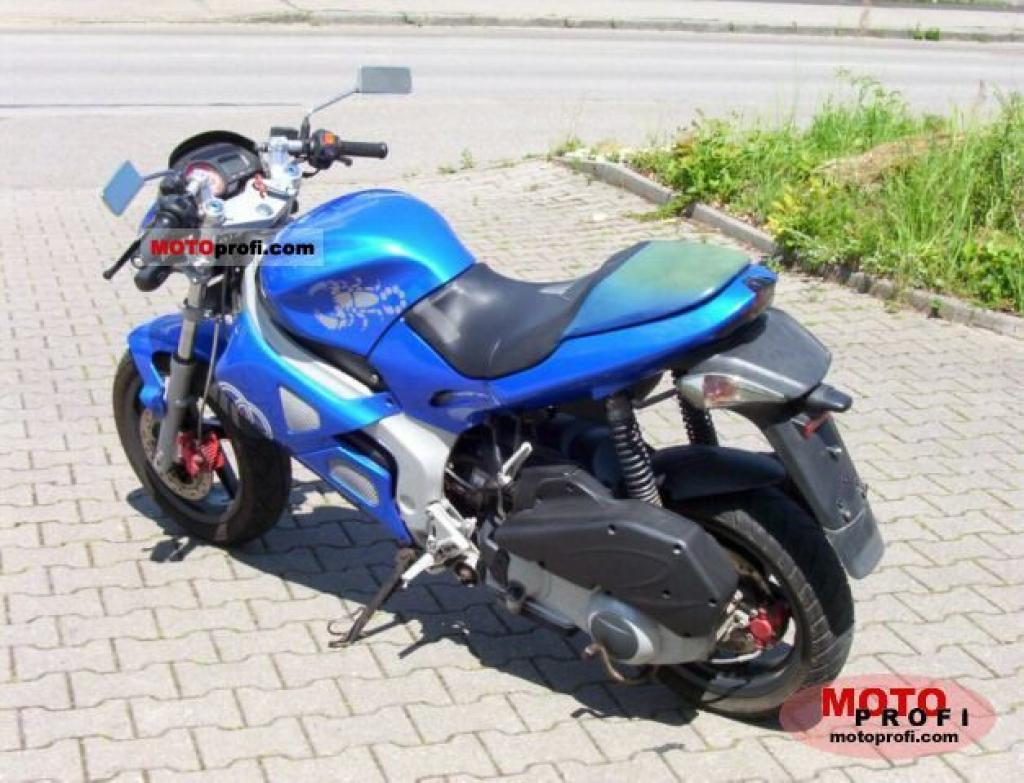 Gilera DNA 125 2002 images #96072