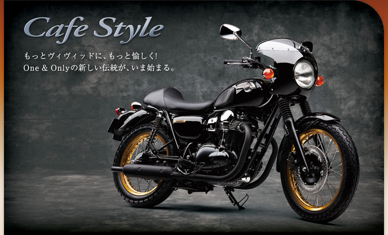 Kawasaki W800 Cafe Style images #86147