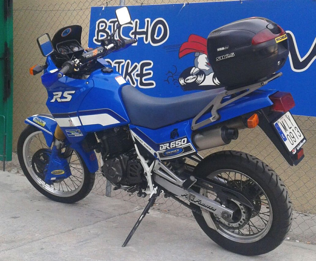 1992 suzuki dr 650 rse pics specs and information. Black Bedroom Furniture Sets. Home Design Ideas