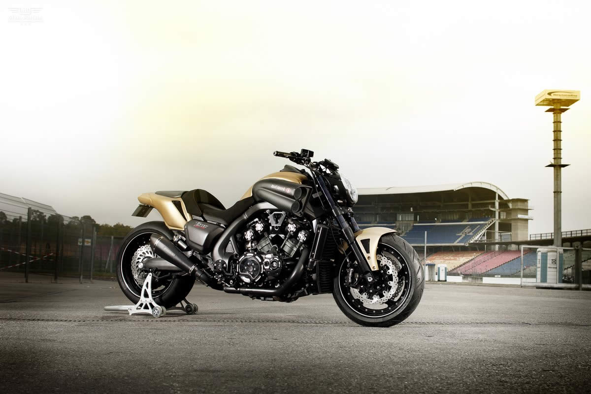 Yamaha VMAX Hyper Modified Marcus Walz 2013 images #92106