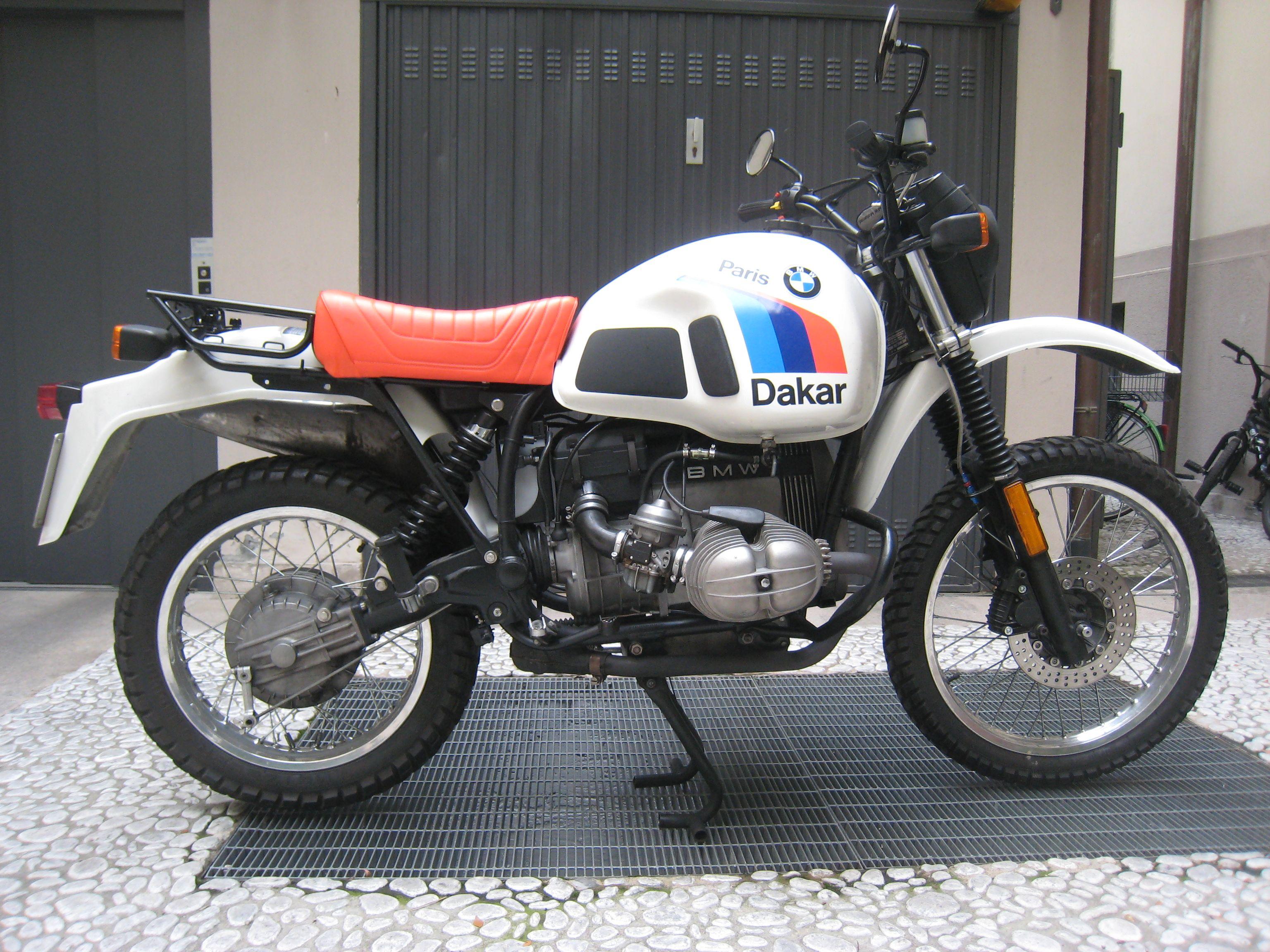 BMW R80GS 1990 wallpapers #162267