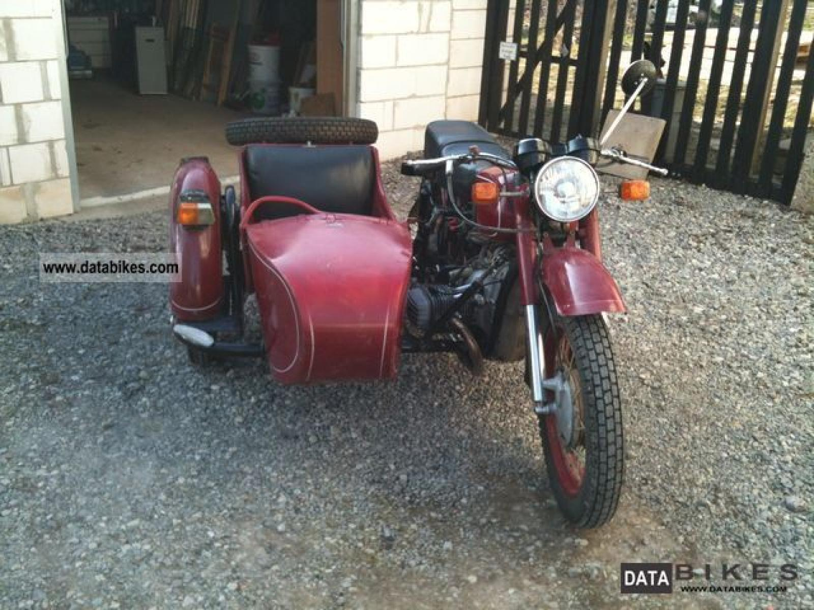Dnepr MT 12 with sidecar 1982 images #70202