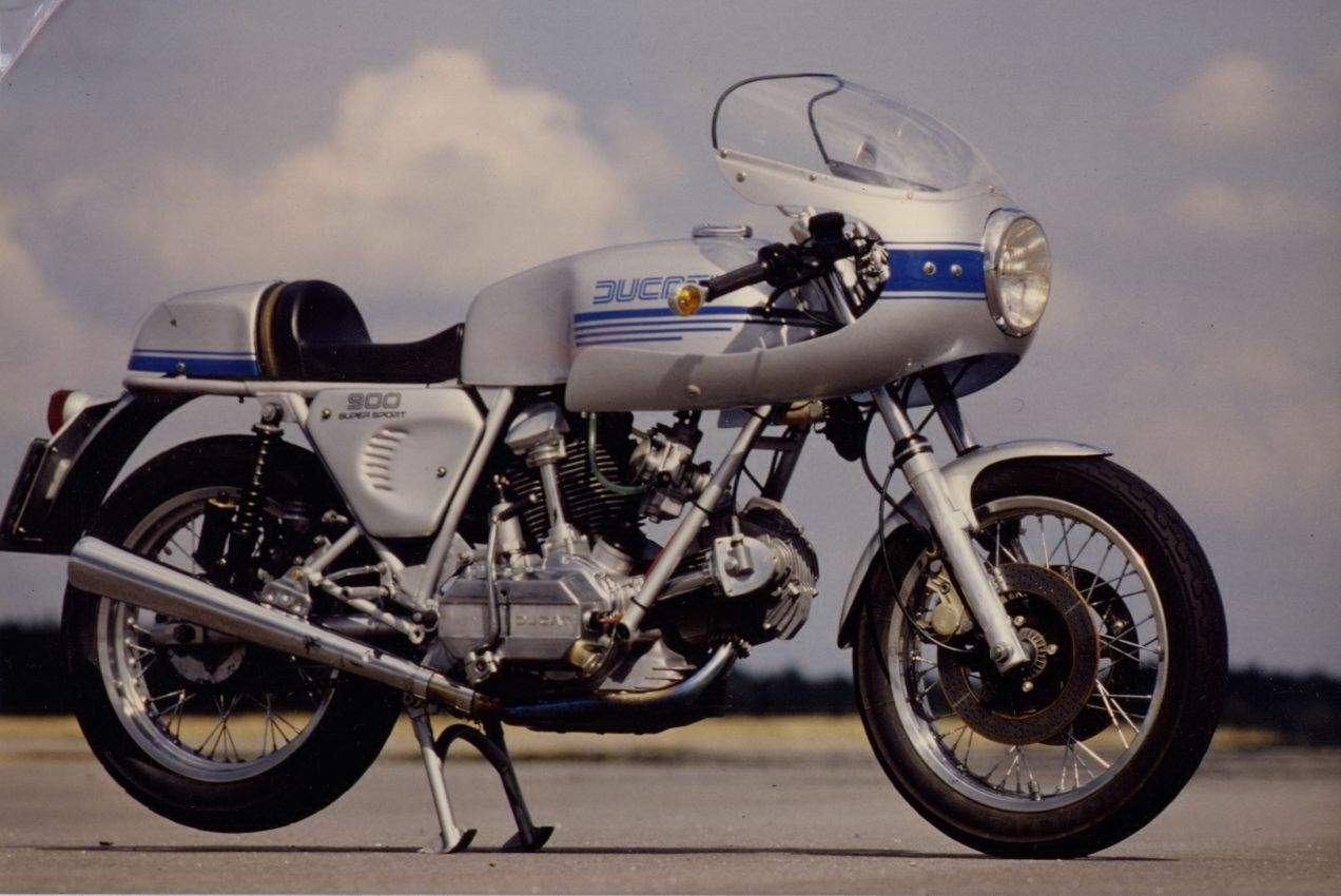 Ducati 900 SS 1982 wallpapers #10307