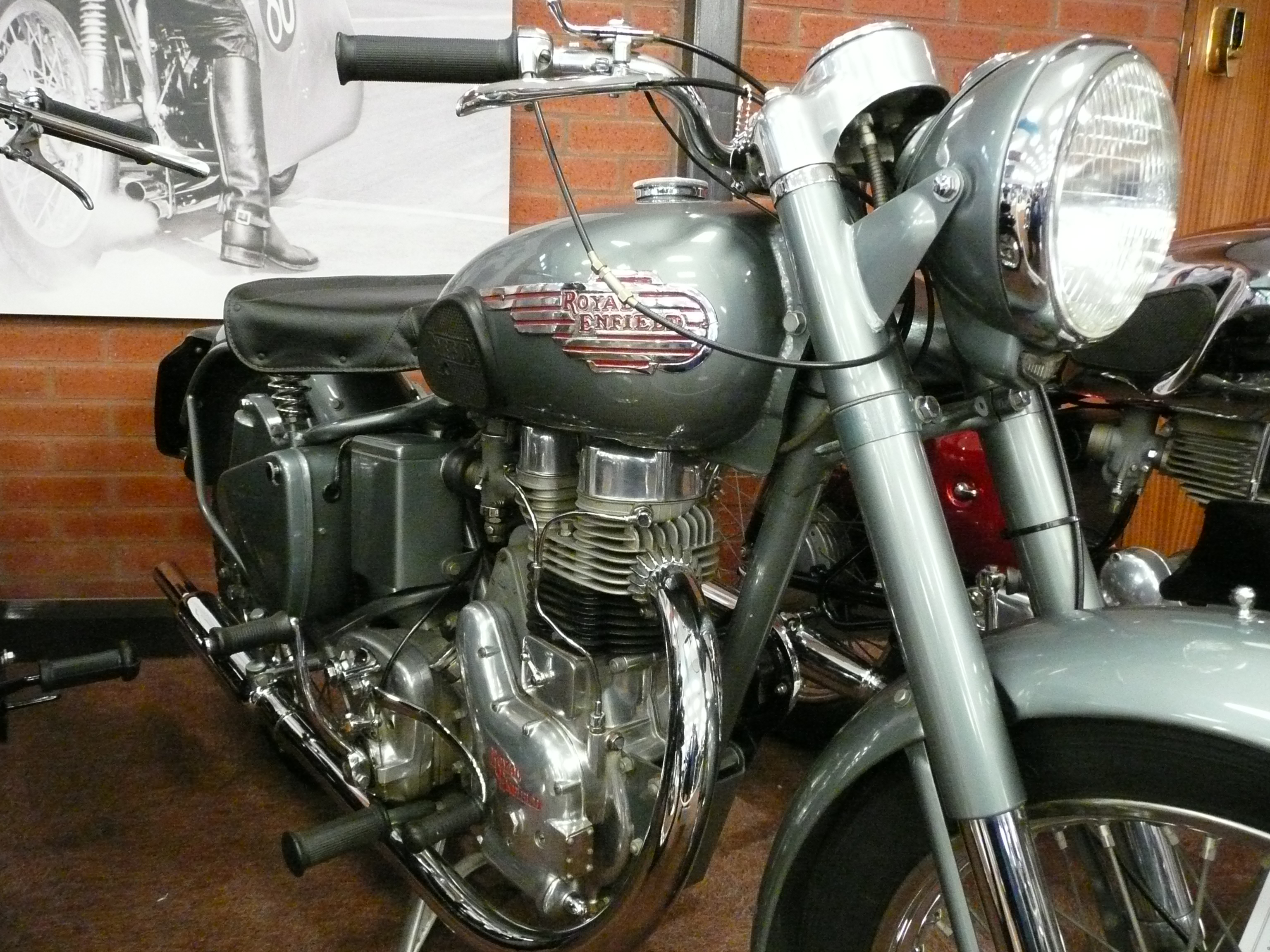 Royal Enfield Bullet 350 Army 1987 images #122434