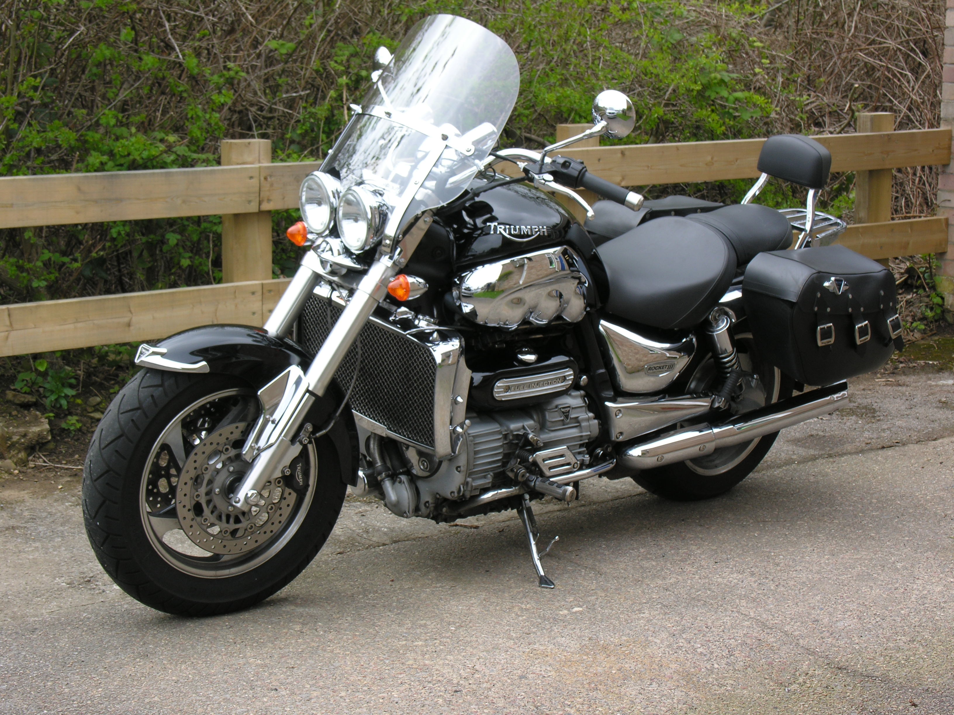 Triumph Rocket III 2005 wallpapers #159887