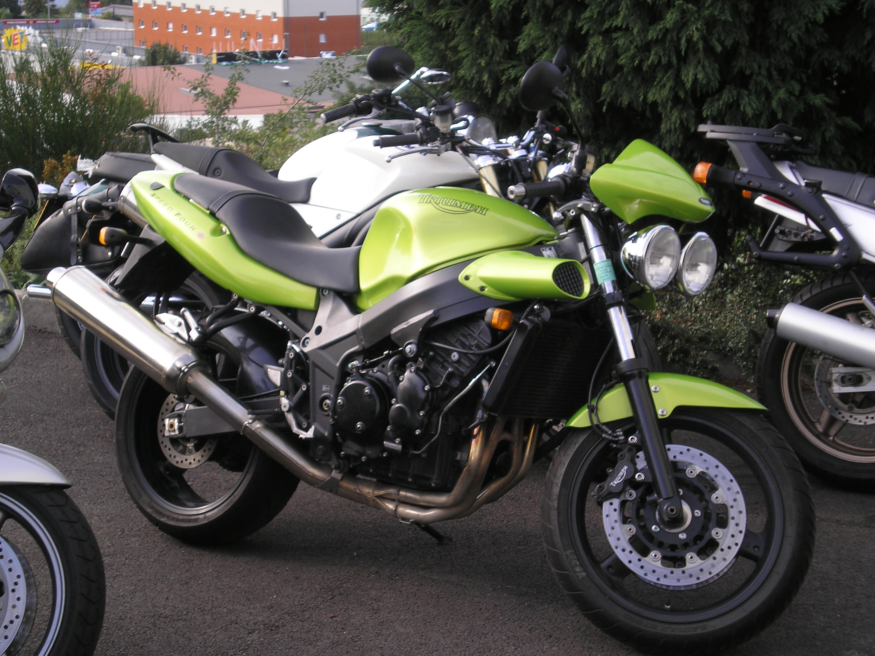 Triumph Speed Four 2002 images #159495