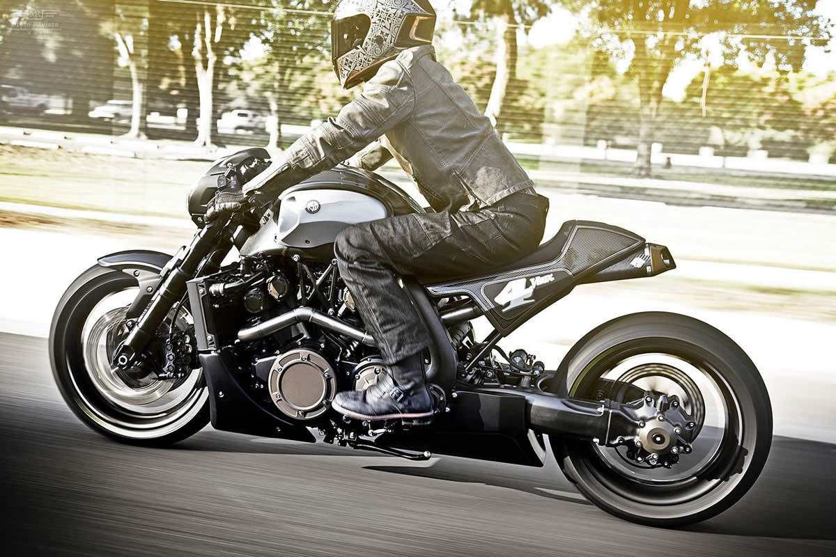 Yamaha VMAX Hyper Modified Marcus Walz 2013 images #92107