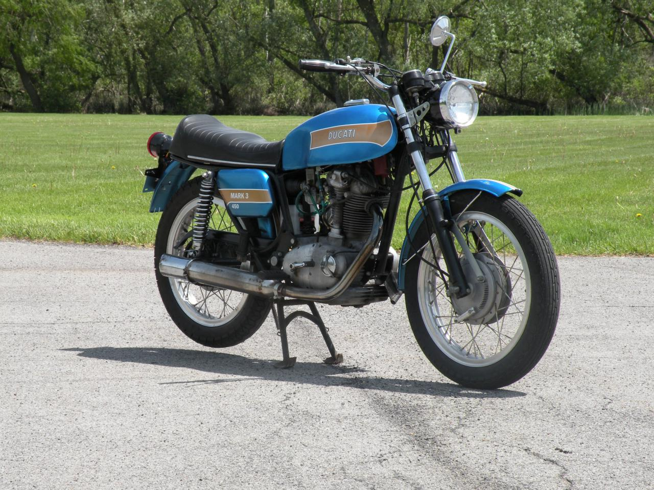 Ducati 450 Mark 3 1971 images #148087