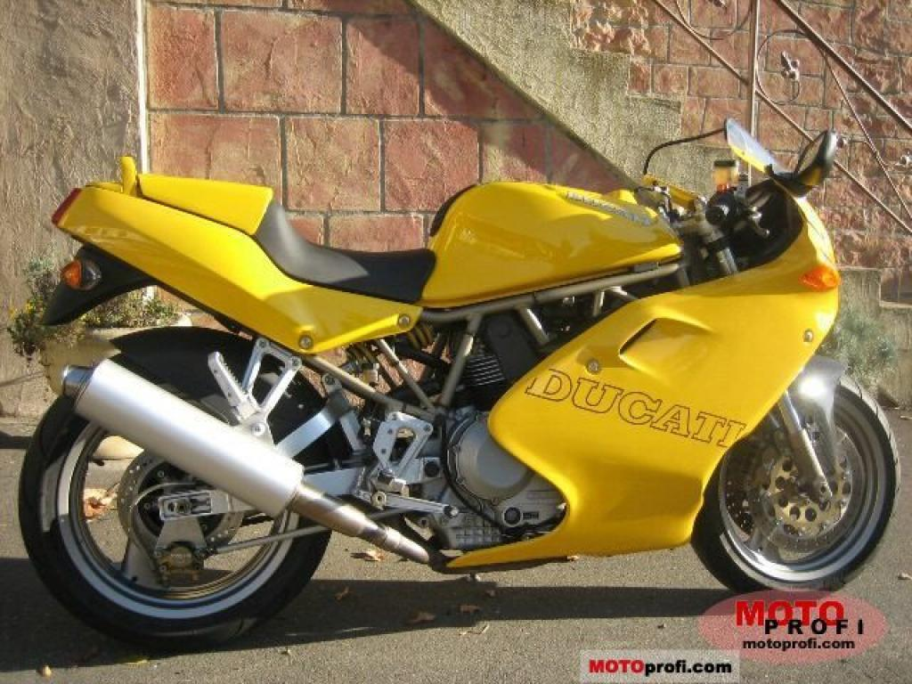 Ducati 900 SS Carenata 2001 wallpapers #11102