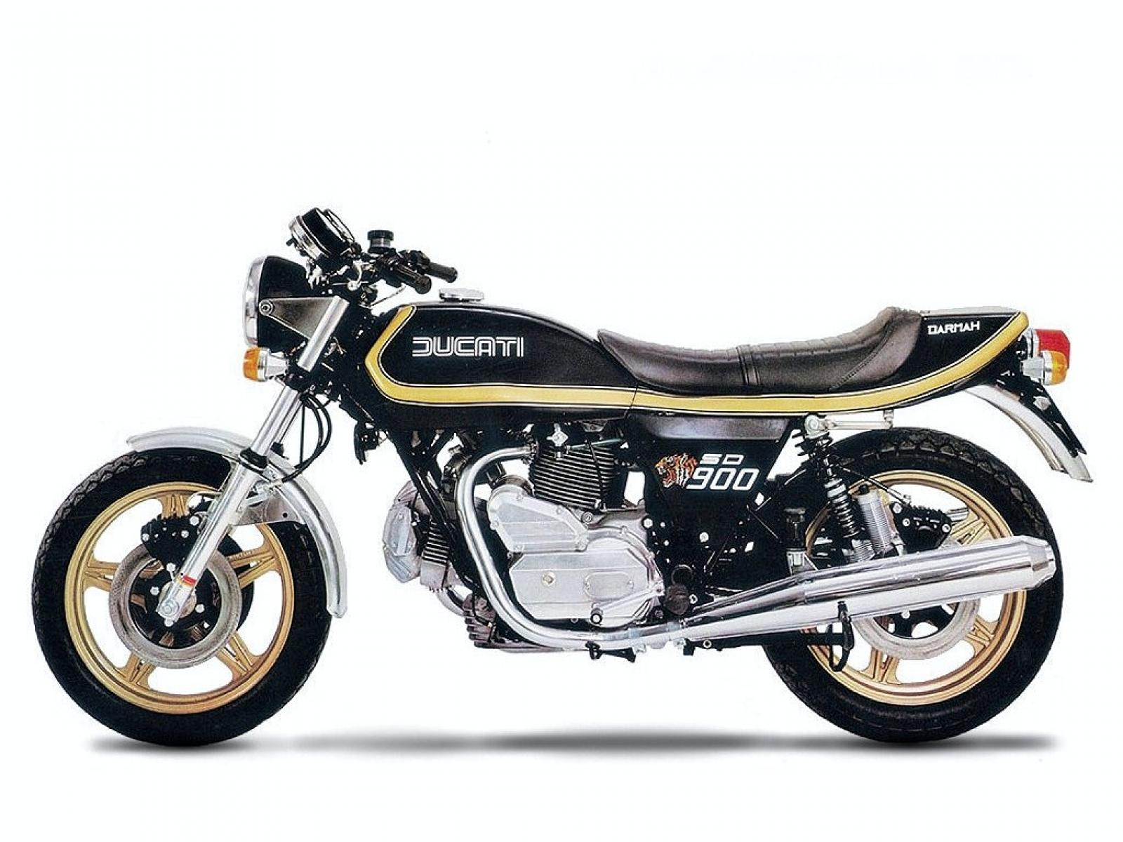 Ducati 900 SS Darmah 1981 wallpapers #16473