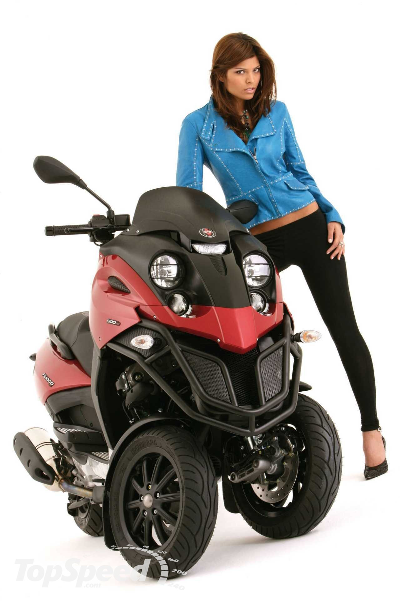 Gilera Fuoco 500 ie 2008 images #74164