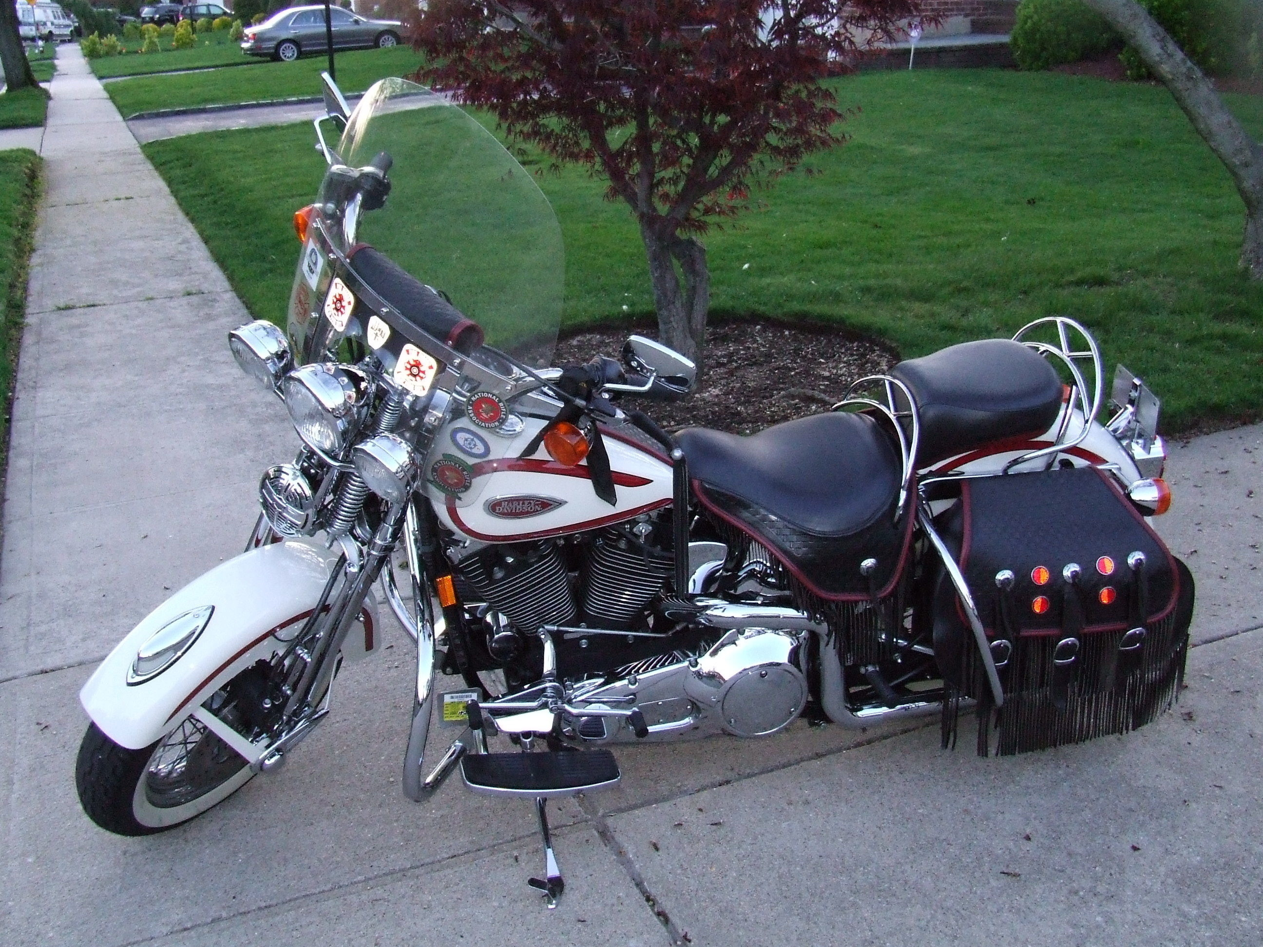 Harley-Davidson FXSTS Springer Softail 1997 images #80005