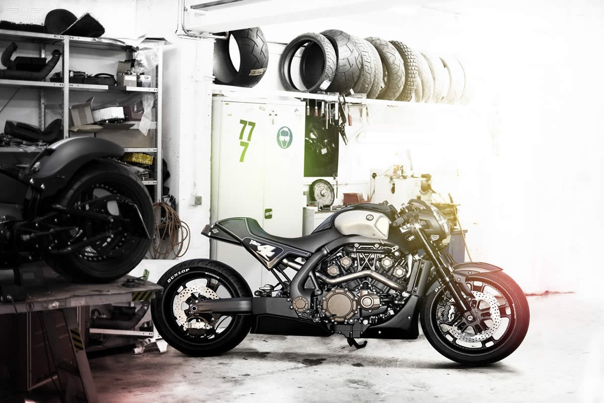 Yamaha VMAX Hyper Modified Marcus Walz 2013 images #92108