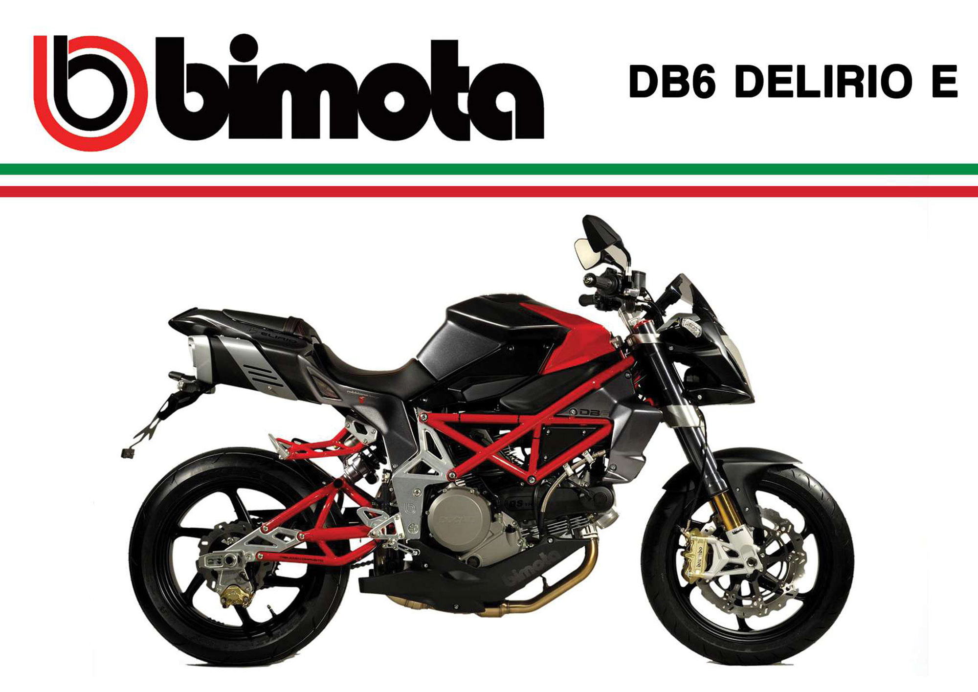 Bimota DB 6 Delirio 2009 wallpapers #137181