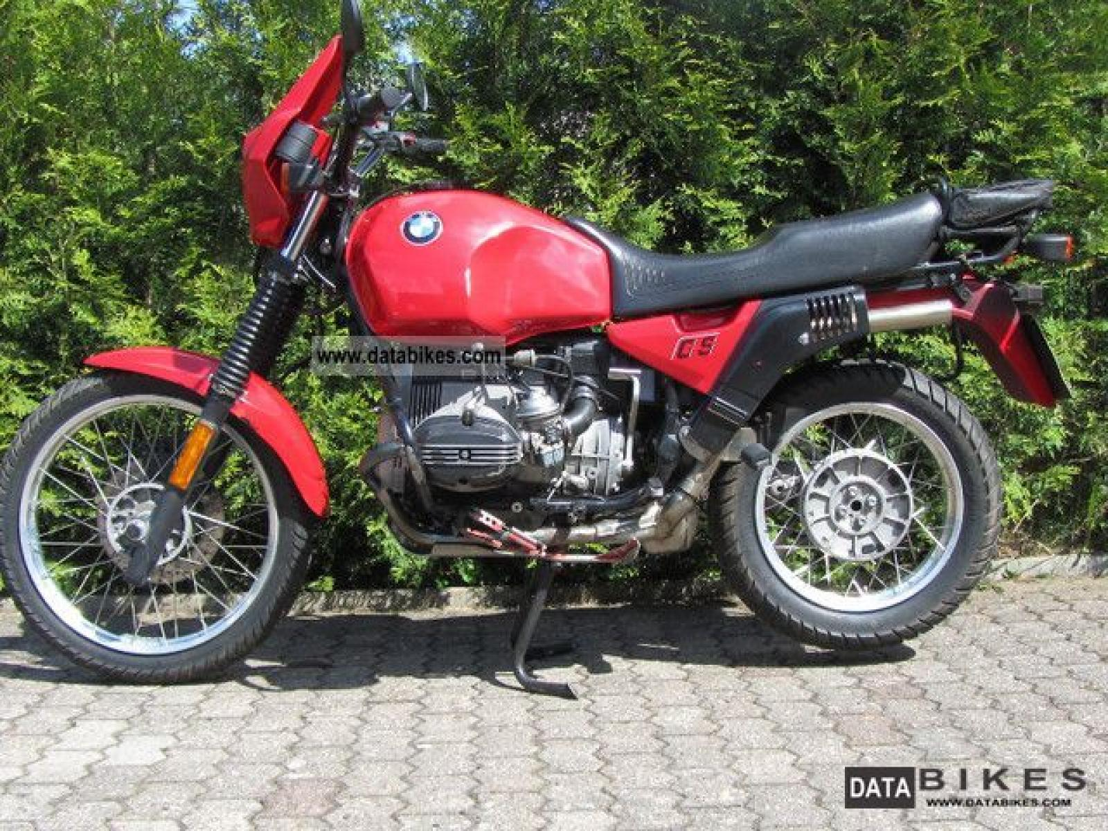 1990 Bmw R80gs Pics Specs And Information