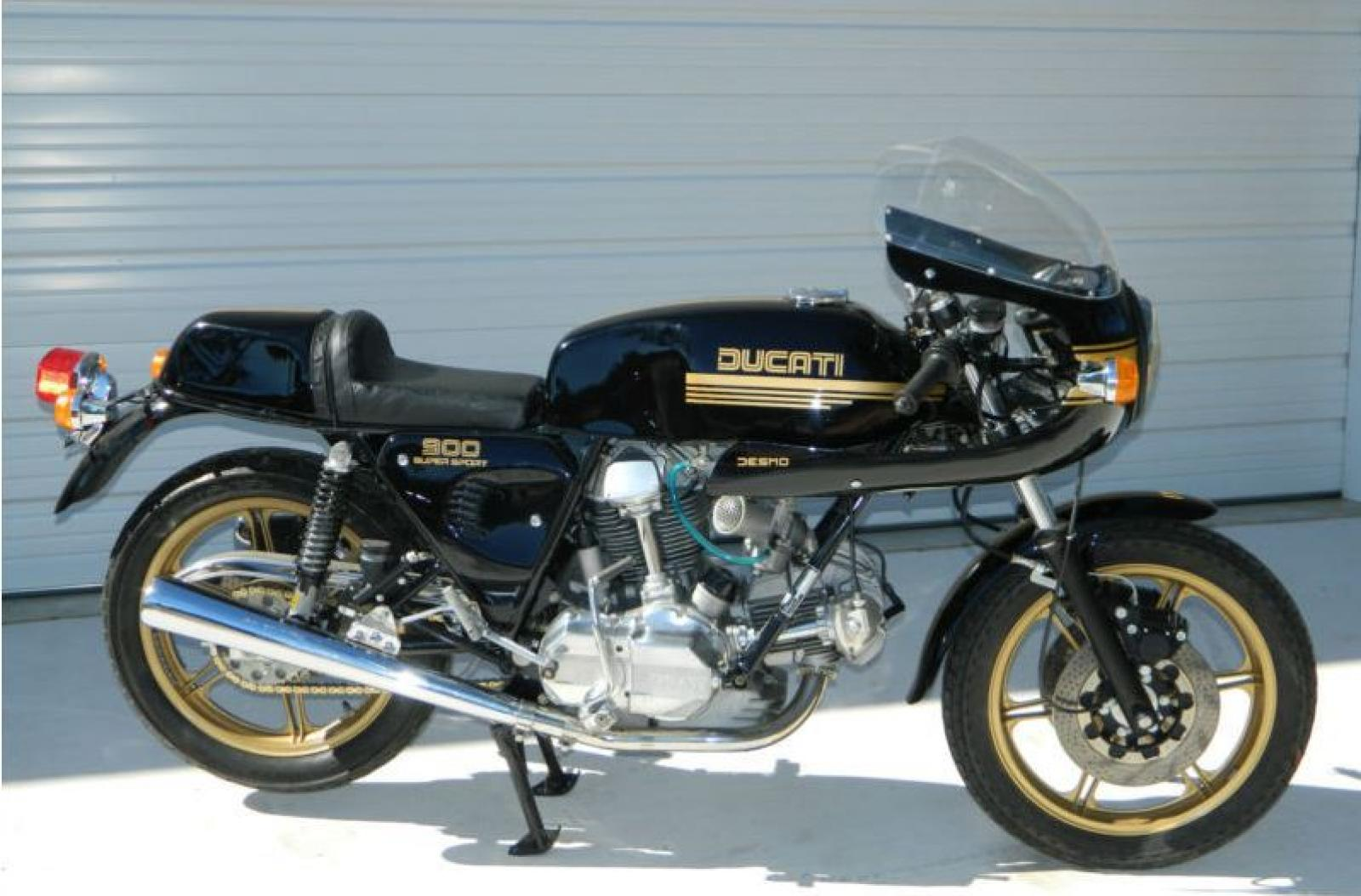Ducati 900 SS 1982 wallpapers #10309