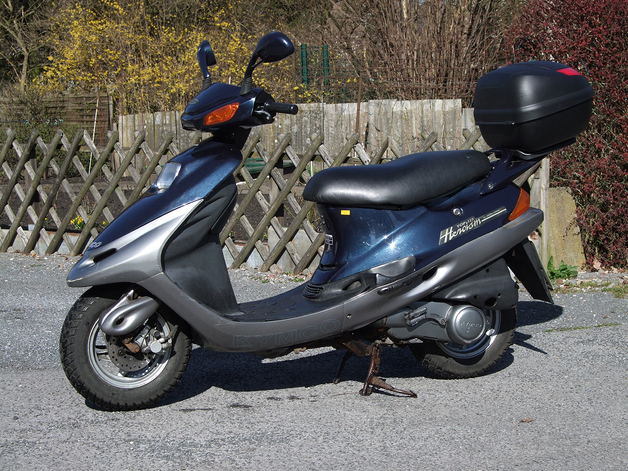 Kymco Heroism 150 1997 images #173087
