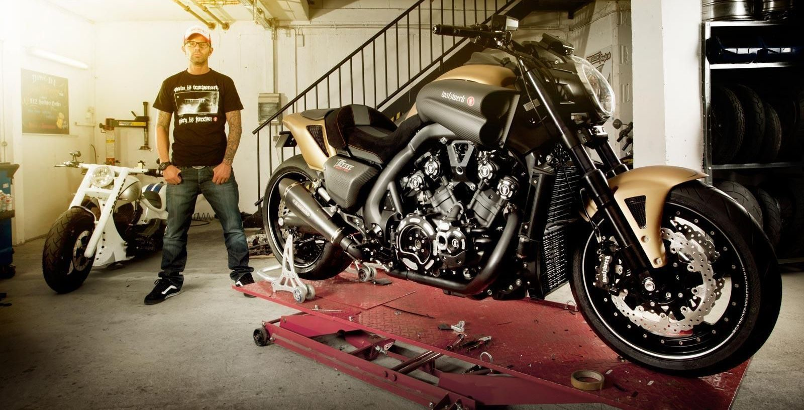 Yamaha VMAX Hyper Modified Marcus Walz 2013 images #92109