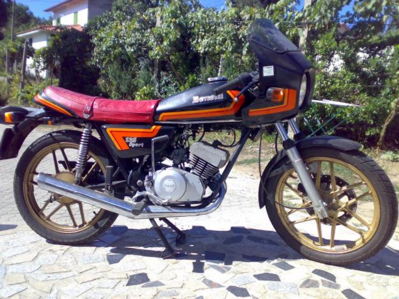 Benelli 125 Sport 1988 images #76335