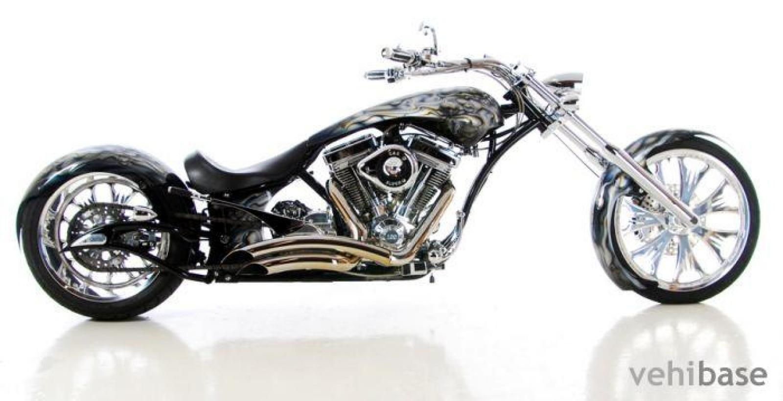 Big Bear Choppers Merc Softail 100 Smooth Carb images #63770
