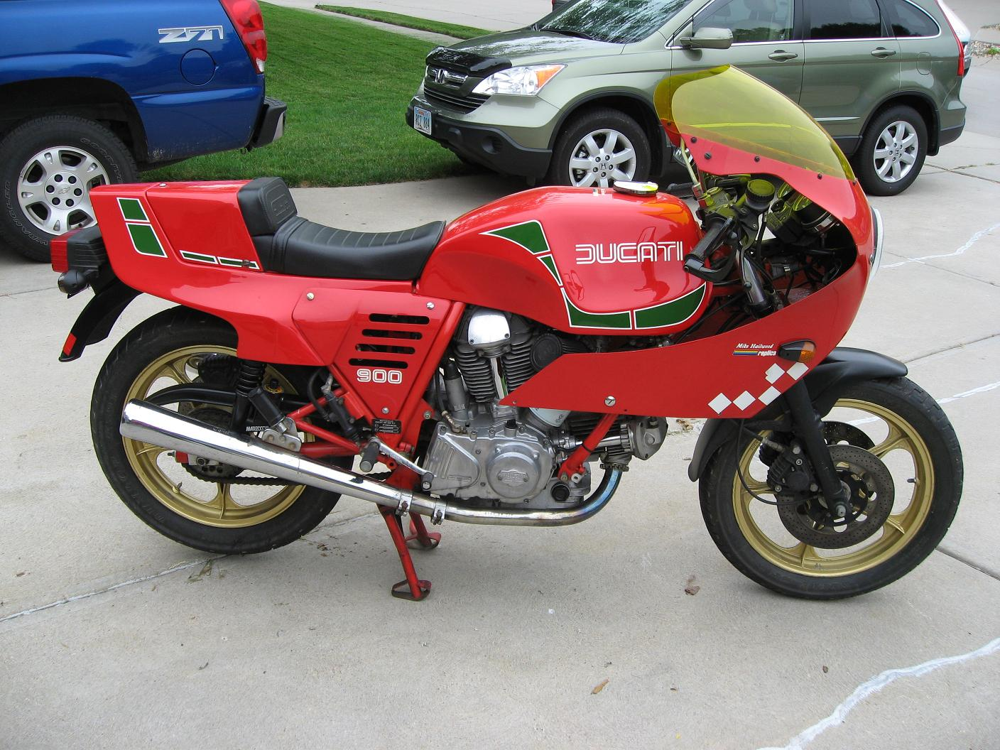 Ducati 900 SS 1981 wallpapers #10610