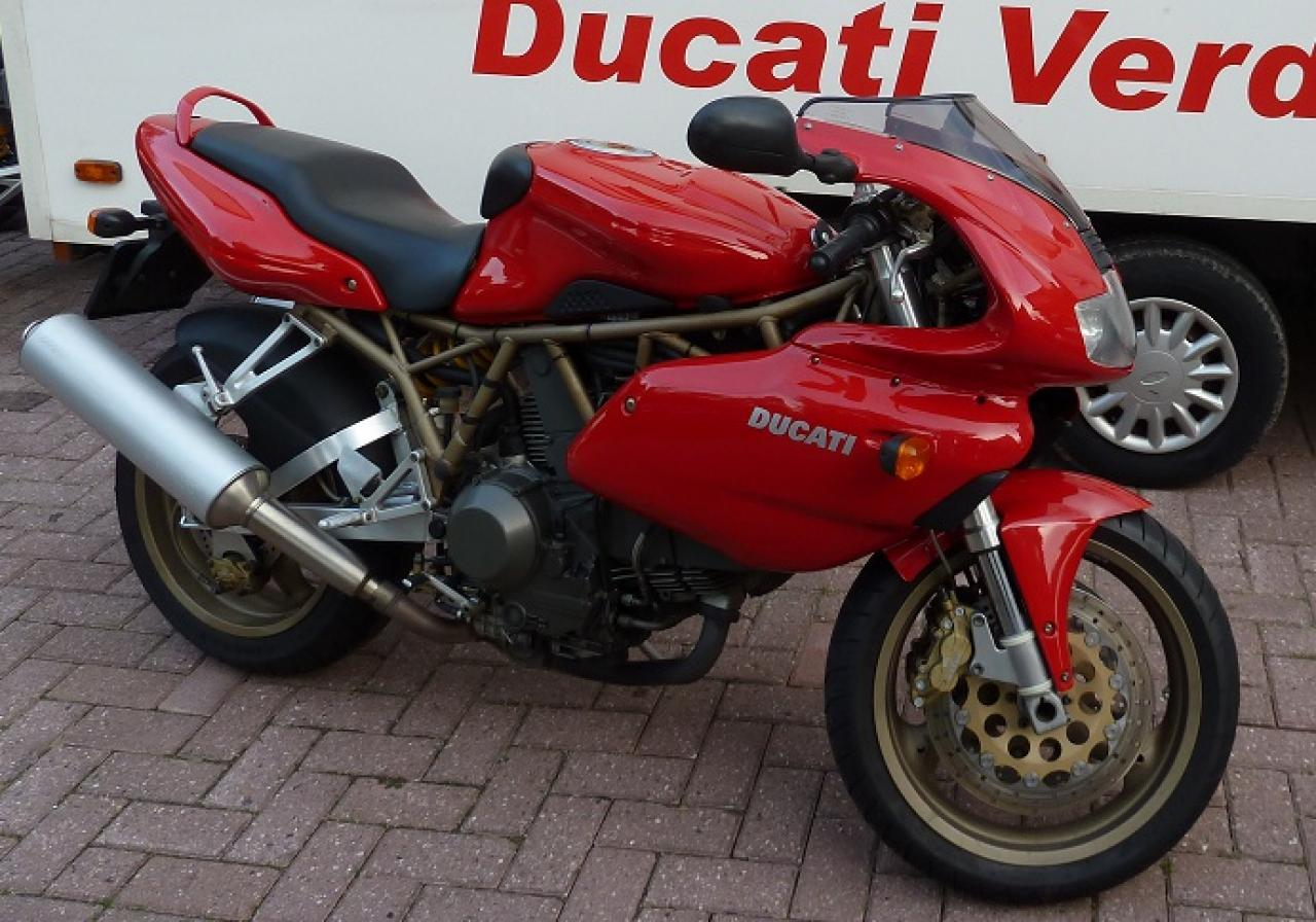 Ducati 900 SS Carenata 2001 wallpapers #11104