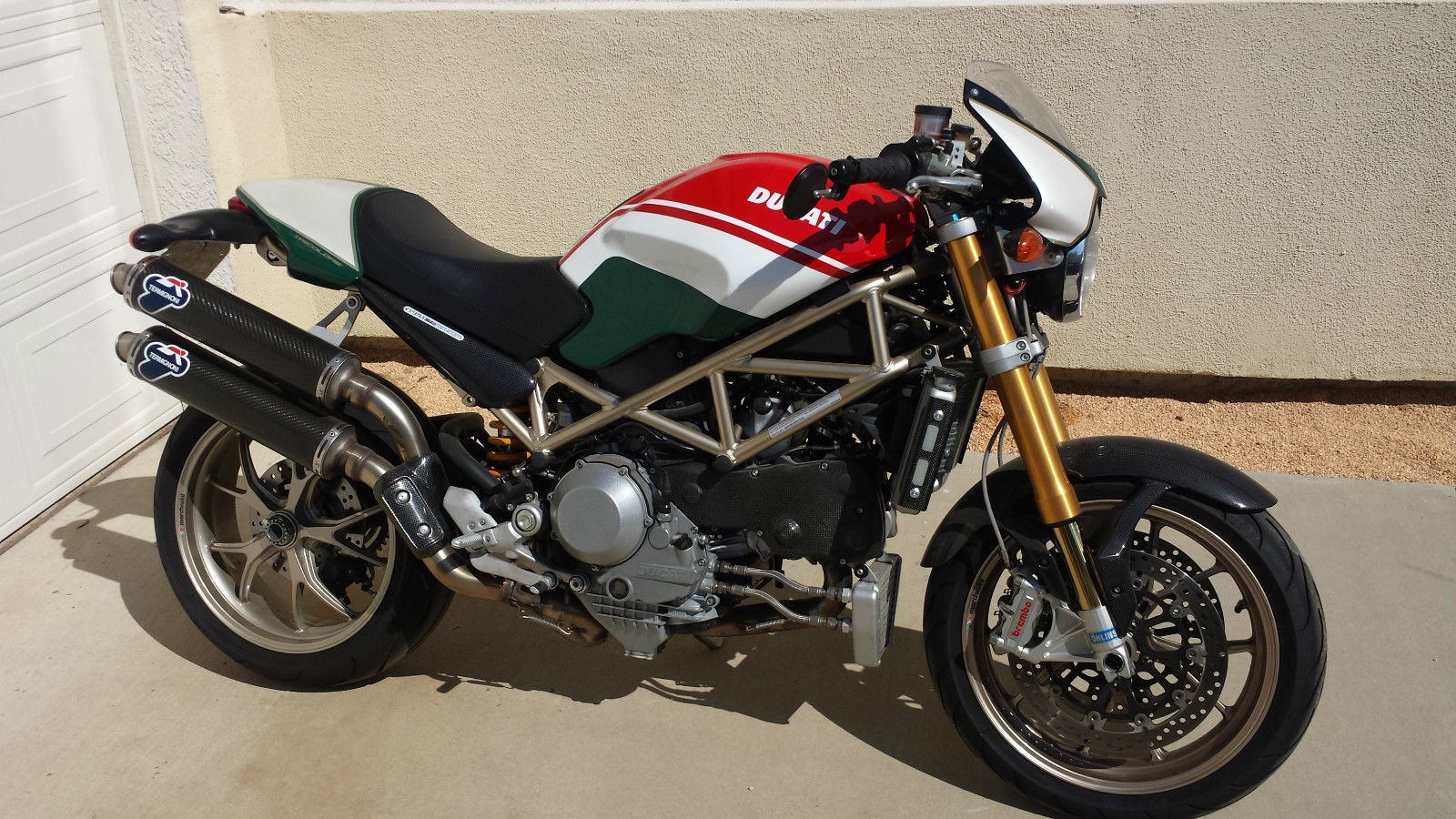 2008 ducati monster s4r s tricolore pics specs and. Black Bedroom Furniture Sets. Home Design Ideas